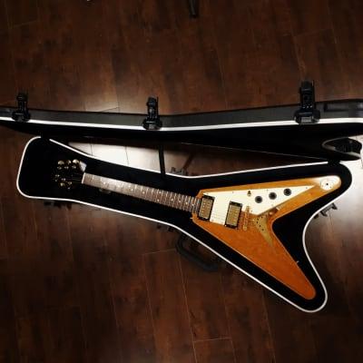 Epiphone Flying V 58 Reissue Korina wood 2007 natural for sale