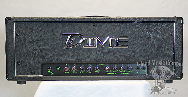 Dime Amplification Dimebag D100 120 Watt Guitar Head Black Tolex