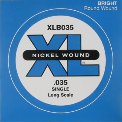 D'Addario XLB035 Bass Single