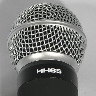 Galaxy Audio HH65 Dynamic Cardioid Microphone for DHX/DHXR4 Wireless Microphone System  2010 Black