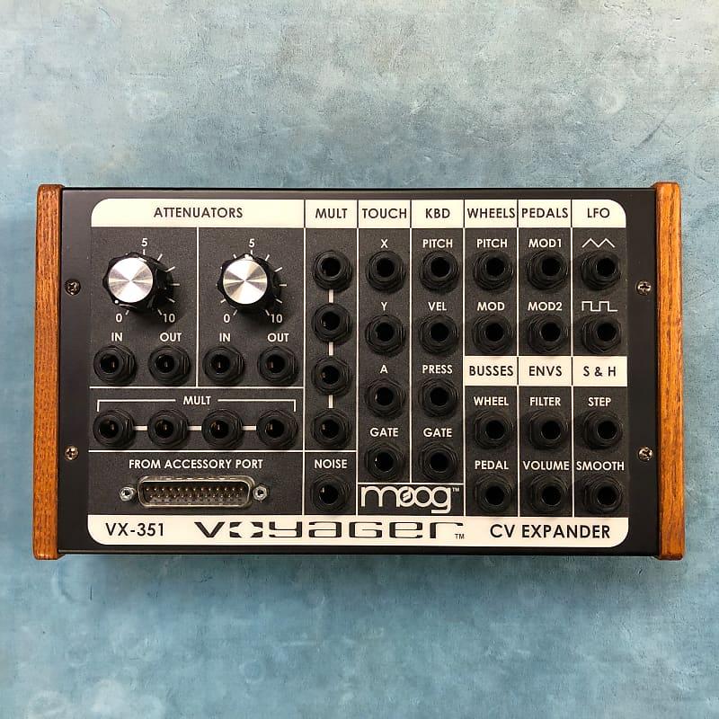 Moog VX-351 Voyager Control Voltage CV Expander w/ Connector Cable