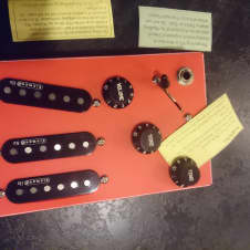 Zero Hum SSS Kinman Blues Pickups with K-9 No Solder Harness