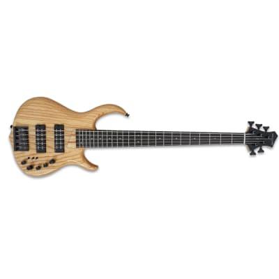 Sire M5 5-String Bass Guitar, Swamp Ash Body, Ebony Fretboard, NT Natural