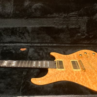 Movie Relief Check Sale! Warrior Dran Michael Natural Quilted Maple High Gloss Finish for sale