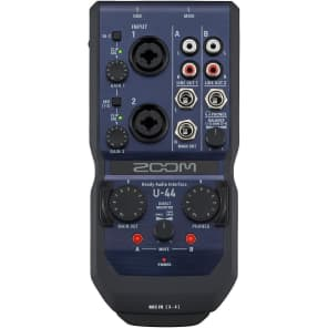 Zoom U-44 Mobile Studio Handy 4-Channel Audio Interface/Recorder