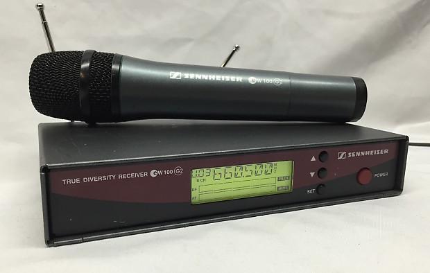 Sennheiser True Diversity Receiver Ew 100 G2 W Wireless Manual Guide