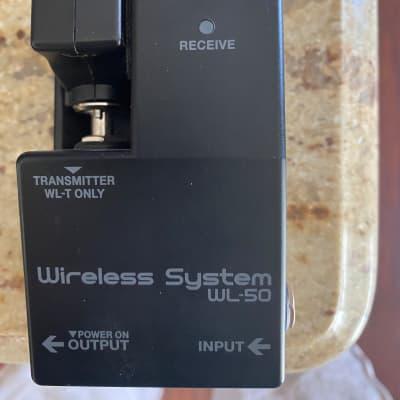 Boss WL-50 Wireless Pedal Board System 2018