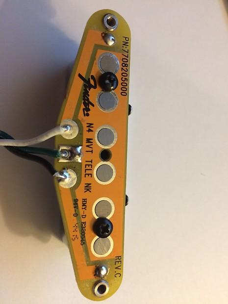 Fender N4 Noiseless Tele Pickups 2016