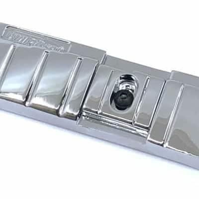 Wilkinson GTB-Lite Aluminum Wraparound Bridge - Chrome---chrome