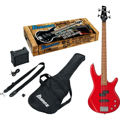 Ibanez IJSR190N Electric Bass Jumpstart Pack, Red - Free shipping lower USA!