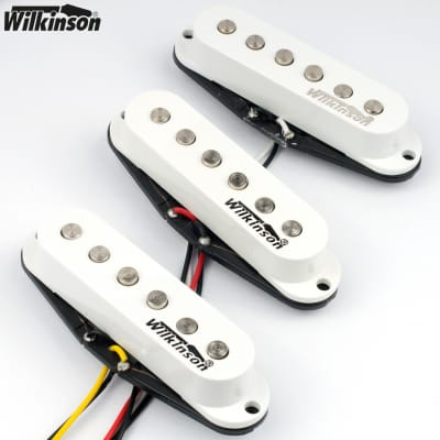 Wilkinson MWVS Vintage 60's Single Coil Pickups for Stratocaster® Strat® - WHITE