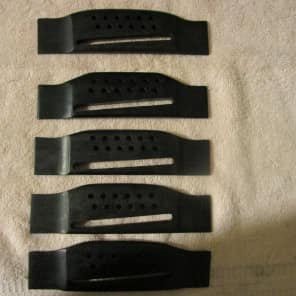 new old stock Generic Rosewood 12-string guitar bridge Lot of 5 for sale