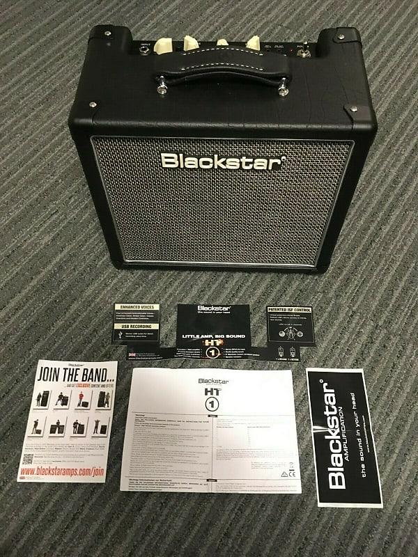 blackstar ht 1r mkii guitar amplifier 1 watt tube combo reverb. Black Bedroom Furniture Sets. Home Design Ideas