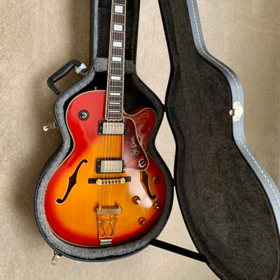 Epiphone Emperor II Joe Pass 1995 Cherry Burst for sale