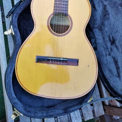 Carlo Robelli SA-500 70s? Natural With pickup new tuners and Hard Case for sale