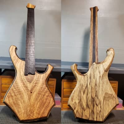 Barlow Guitars Condor 2019 Olivewood / Ziricote for sale