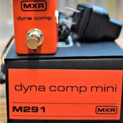Dunlop MXR M291 Dyna Comp Compressor Mini Guitar Effect Pedal