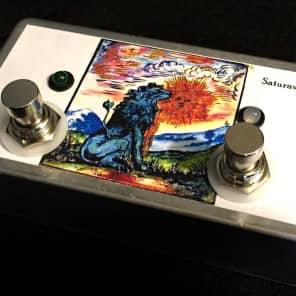 Saturnworks Passive A/B/Y Switch + Splitter Pedal - Handcrafted in California, USA