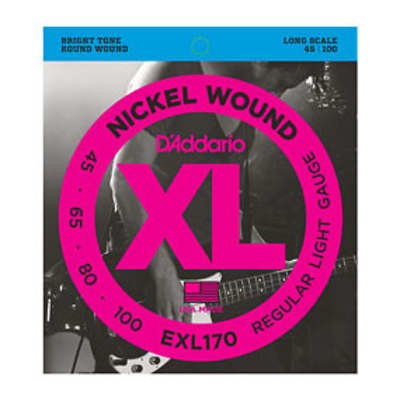 D'Addario EXL170 Bass Strings