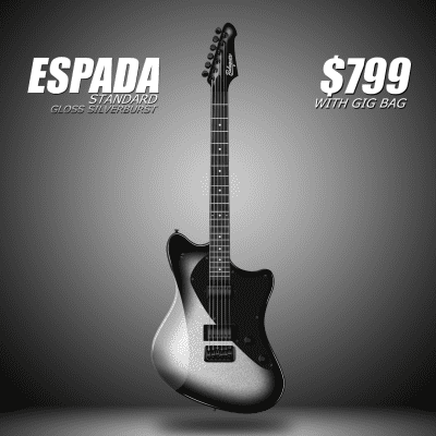 Balaguer Espada Standard (Metallic Silverburst) for sale