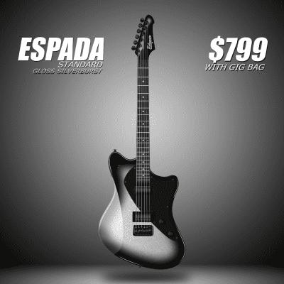 Balaguer Espada Standard (Metallic Silverburst) for sale