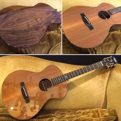 Bedell Bella Voce 12-Fret Acoustic-Electric Guitar & Case