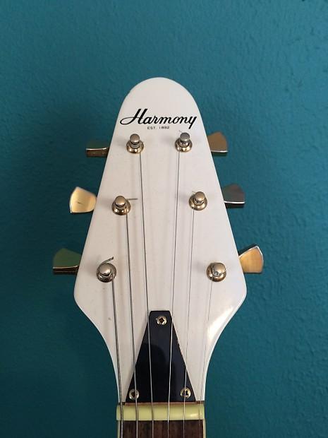 harmony flying v with custom callahan p 90 pickups reverb. Black Bedroom Furniture Sets. Home Design Ideas