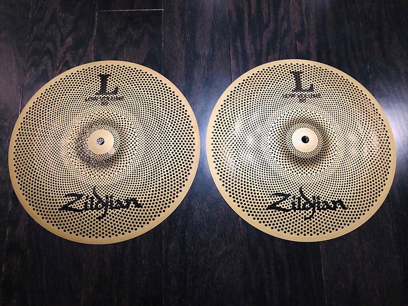 zildjian l80 low volume 13 hi hat cymbal pair new open reverb. Black Bedroom Furniture Sets. Home Design Ideas