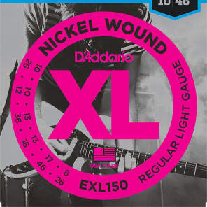 D'Addario EXL150 Nickel Wound 12-String Electric Guitar Strings, Regular Light Gauge