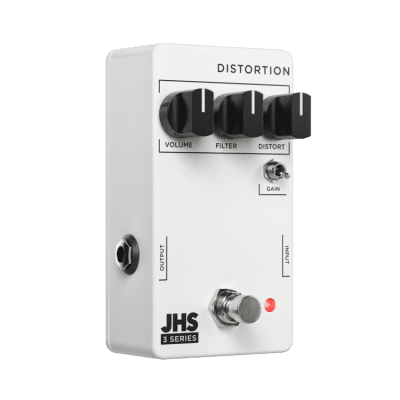 JHS 3 Series Distortion 2021 White