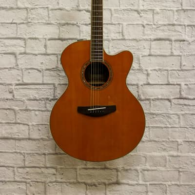 Yamaha CPX600 Acoustic-Electric Guitar - Vintage Tint