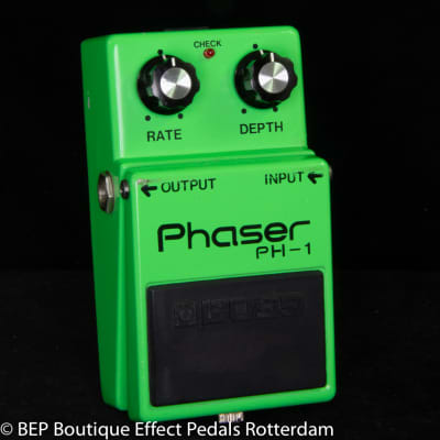 Boss PH-1 Phaser s/n 0200 Silver Screw Long Dash Japan