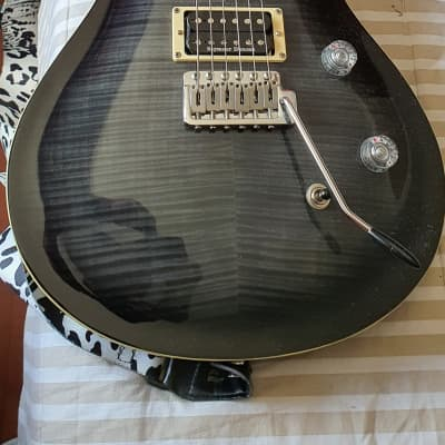 Harley Benton CST-24T Black Flame with Seymour Duncan & Locking Tuner 2019 for sale