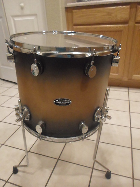 Pdp pacific drums fs birch 16 floor tom reverb for 16 floor tom