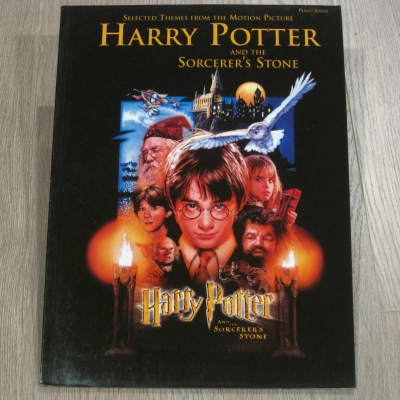 Harry Potter and the Sorcerer's Stone Sheet Music Song Book Songbook Piano Solos