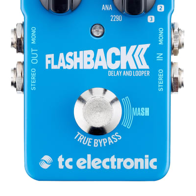 Tc Electronic Flashback 2 Delay And Looper A Pedale Per Chitarra True Bypass Tecnologia Mash + 3 Slo for sale