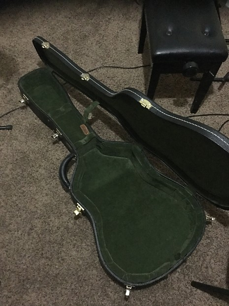 Tkl Elite Dreadnought Archtop Case With Geib Style Handle Reverb