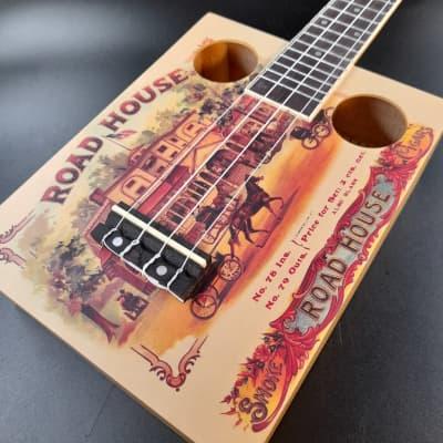 Eddy Finn EF-CGBX-1 - Roadhouse Cigar Box Ukulele for sale
