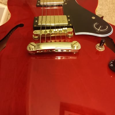 Epiphone ES 335 Pro 2010's Cherry Red for sale