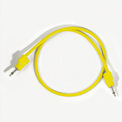 "Tiptop Audio Stackcable 50cm / 19.6"" Yellow"
