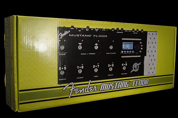 Fender Mustang Floor Multi Effects Guitar Pedal Reverb