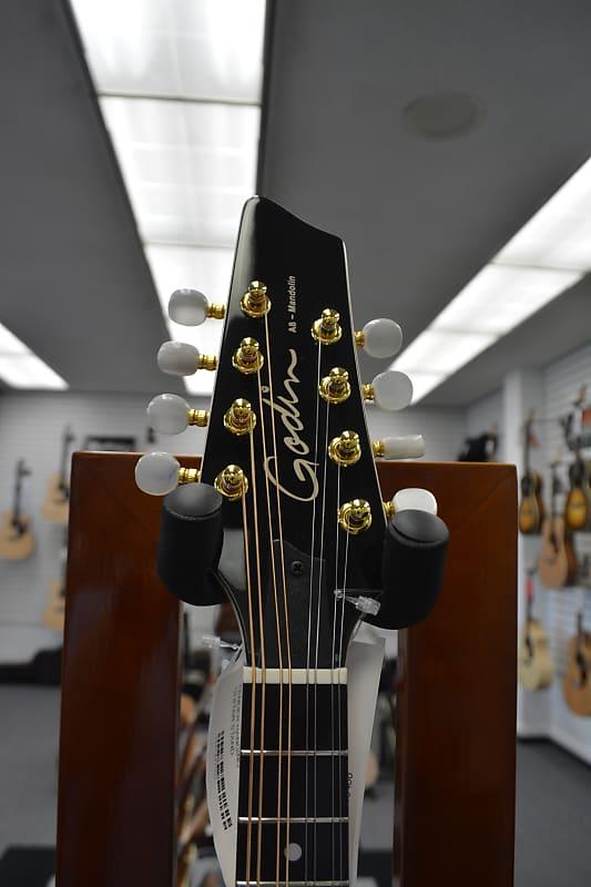 Godin A8 Electro Acoustic Mandolin with Gig Bag - Natural