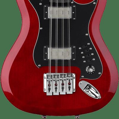 Hagstrom H8II Wild Cherry Transparent E-Bass