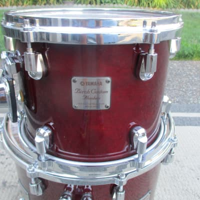 Yamaha Birch Custom Absolute Nouveau 10 X 9 Tom Tom, Japan Made, Lacquer Finish -- Excellent!