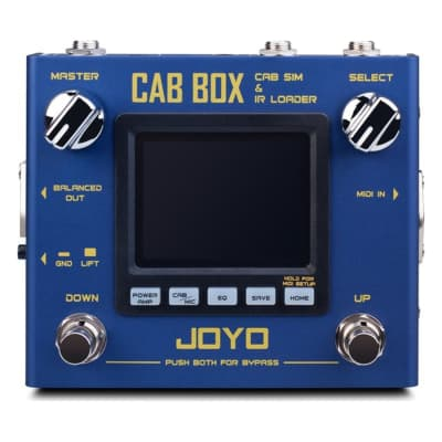 Joyo R-08 Cab Box Cabinet Simulator and IR Loader Pedal for sale