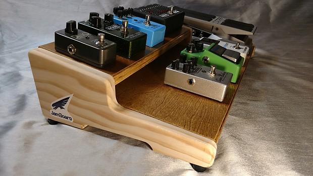 Two Tier Pedalboard : jamboard deluxe 2 tier golden oak custom pedalboard reverb ~ Russianpoet.info Haus und Dekorationen