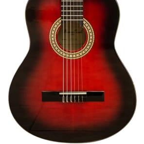 Beaver Creek BCTC901RB Classical Acoustic Guitar BCTC901 (Red/Redburst) for sale