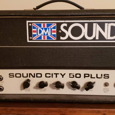 Sound City 50 Plus Guitar Head for sale