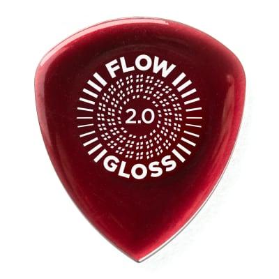 Dunlop 550R200 Flow Gloss Ultex 2mm Guitar Picks (12-Pack)