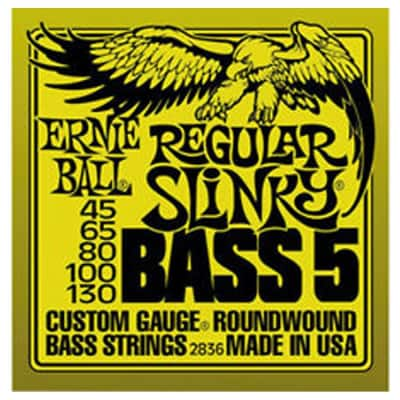 Ernie Ball Regular Slinky 5-String Bass Strings